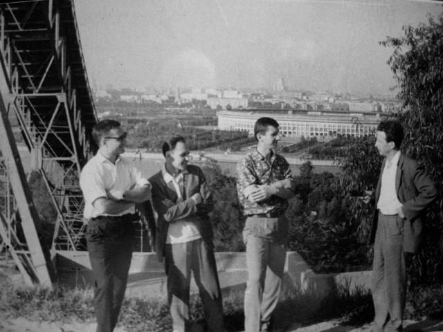 Экспонат #4. «Город здоровья». Воробьёвы горы, 1965 год