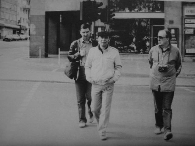 Экспонат #59. С Борисом Рычковым и Рубеном Петросовым. ЧМ по хоккею. Мюнхен 1983 год