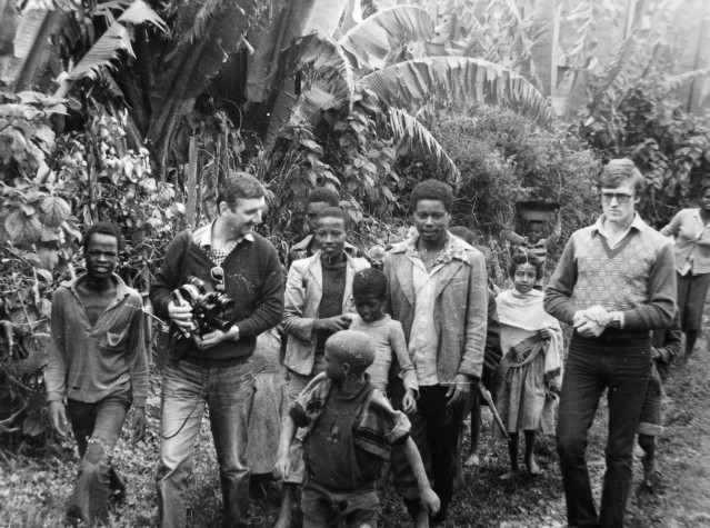 Экспонат #41. В Эфиопии. 1984 год