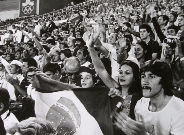 Экспонат #35. Закрытие Олимпиады. 1980 год