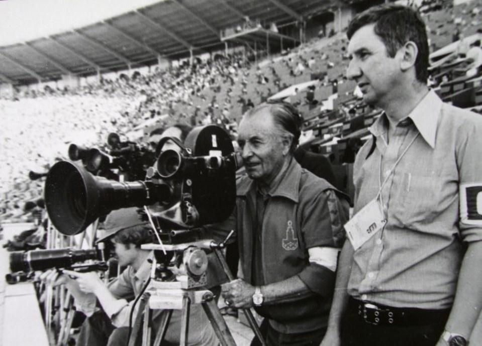 Экспонат #108. На XXIIЛетних олимпийских играх вМоскве. 1980 год