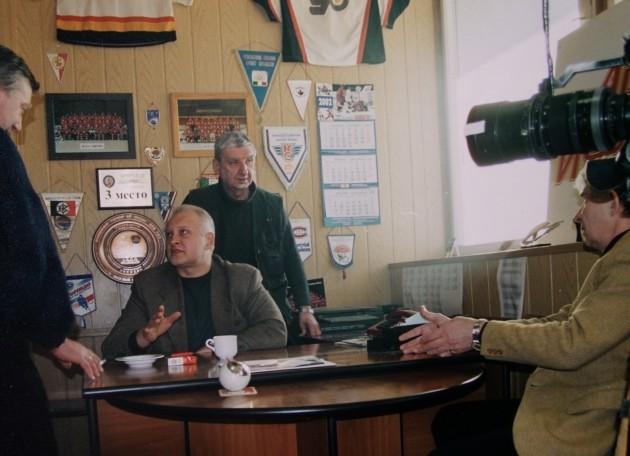 Экспонат #96. В хоккейном клубе СК ЦСКА. 2004 год