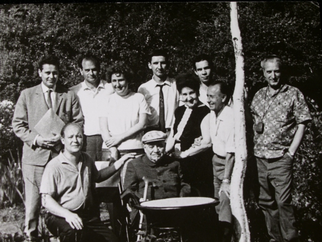 Экспонат #2. На даче у академика Ивана Майского. 1965 год
