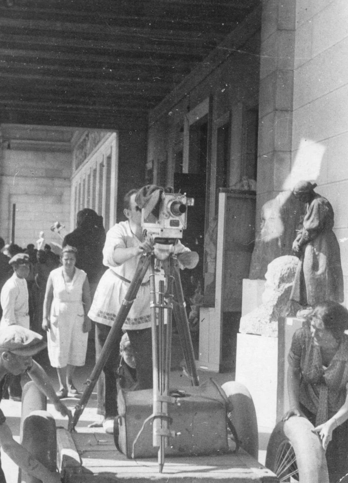 Экспонат #23. Рабочий момент съёмок. Июль 1933 года