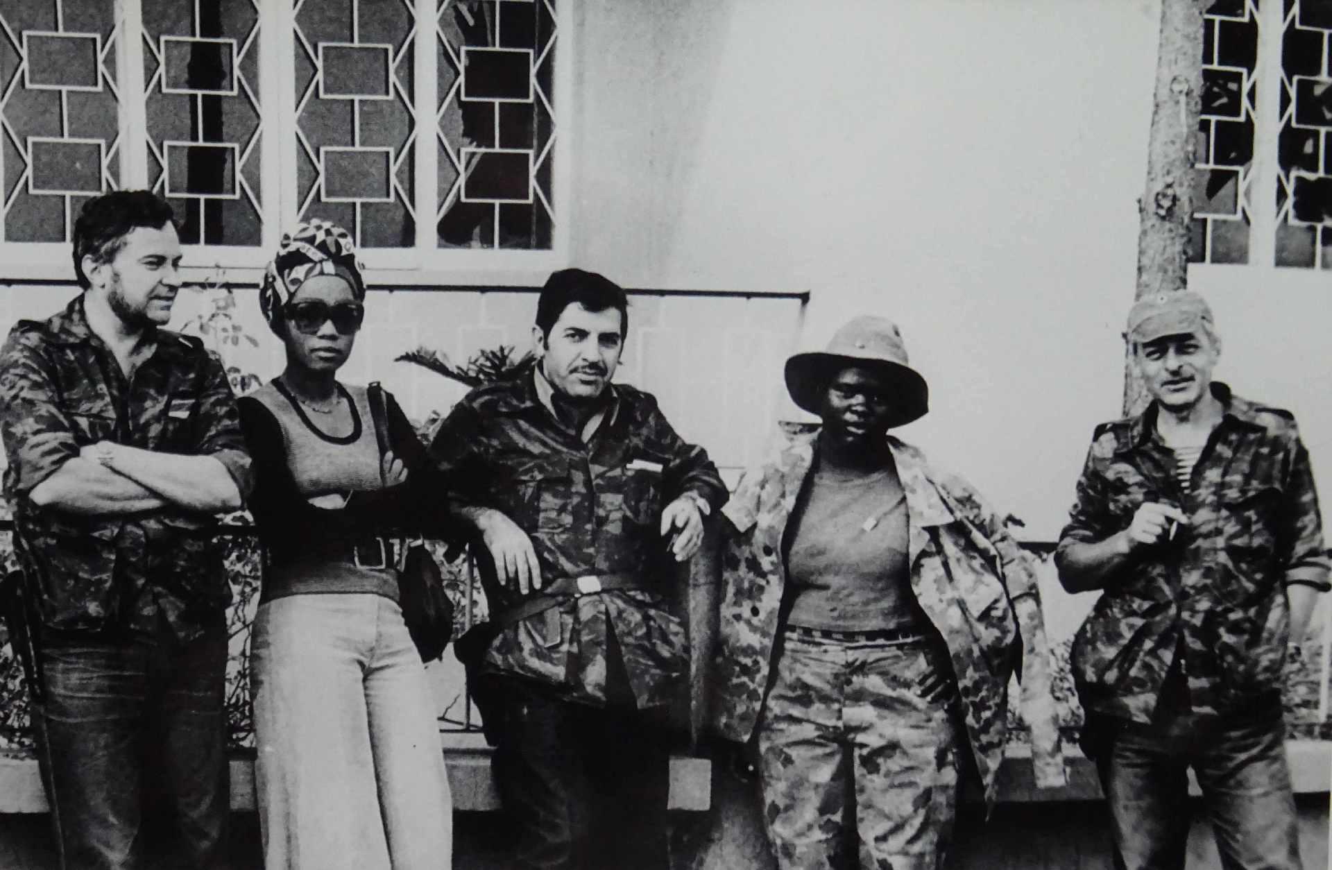 Экспонат #27. Ангола. 1976 год