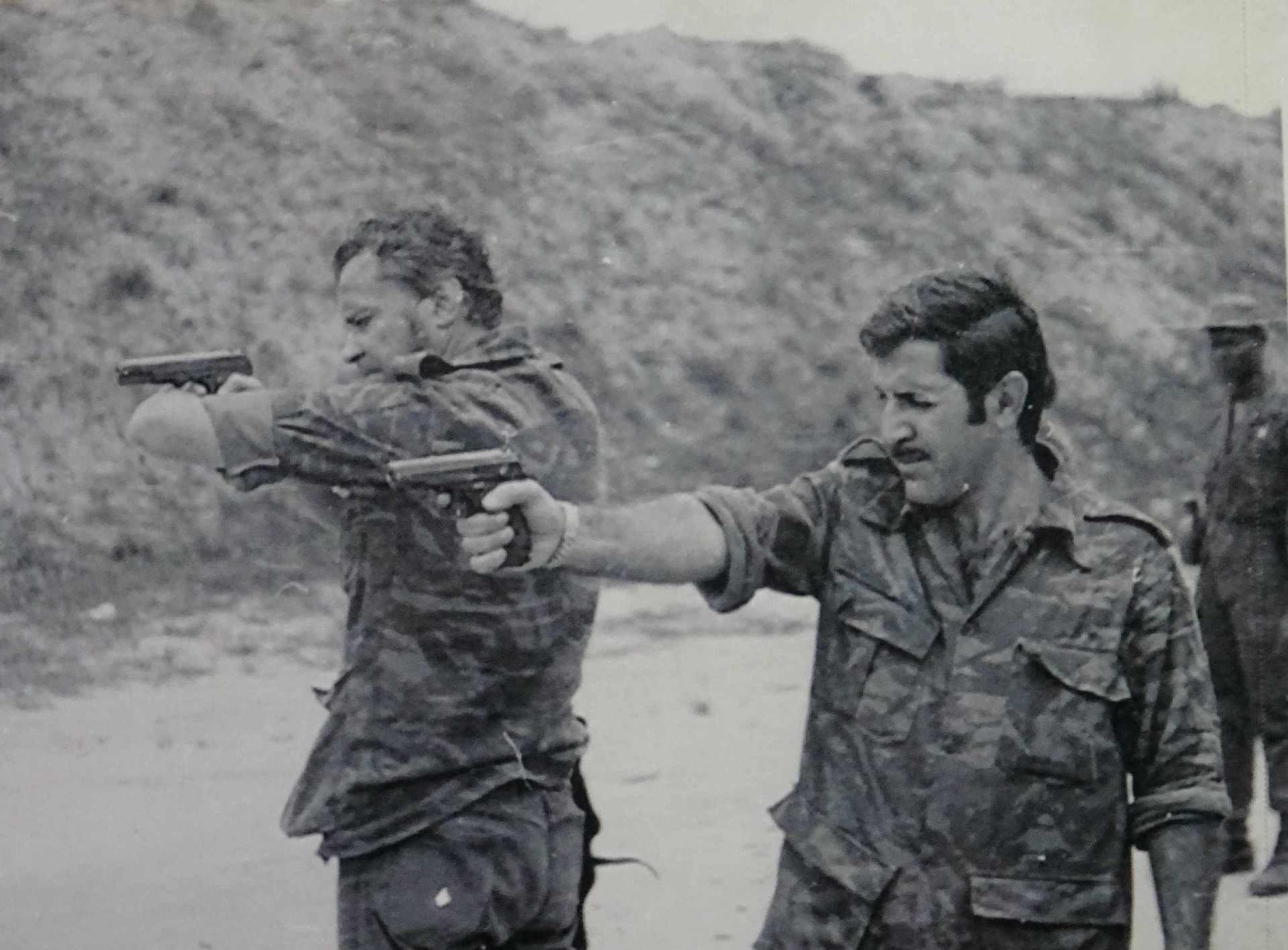 Экспонат #29. С Игорем Бганцевым. Ангола, 1976 год