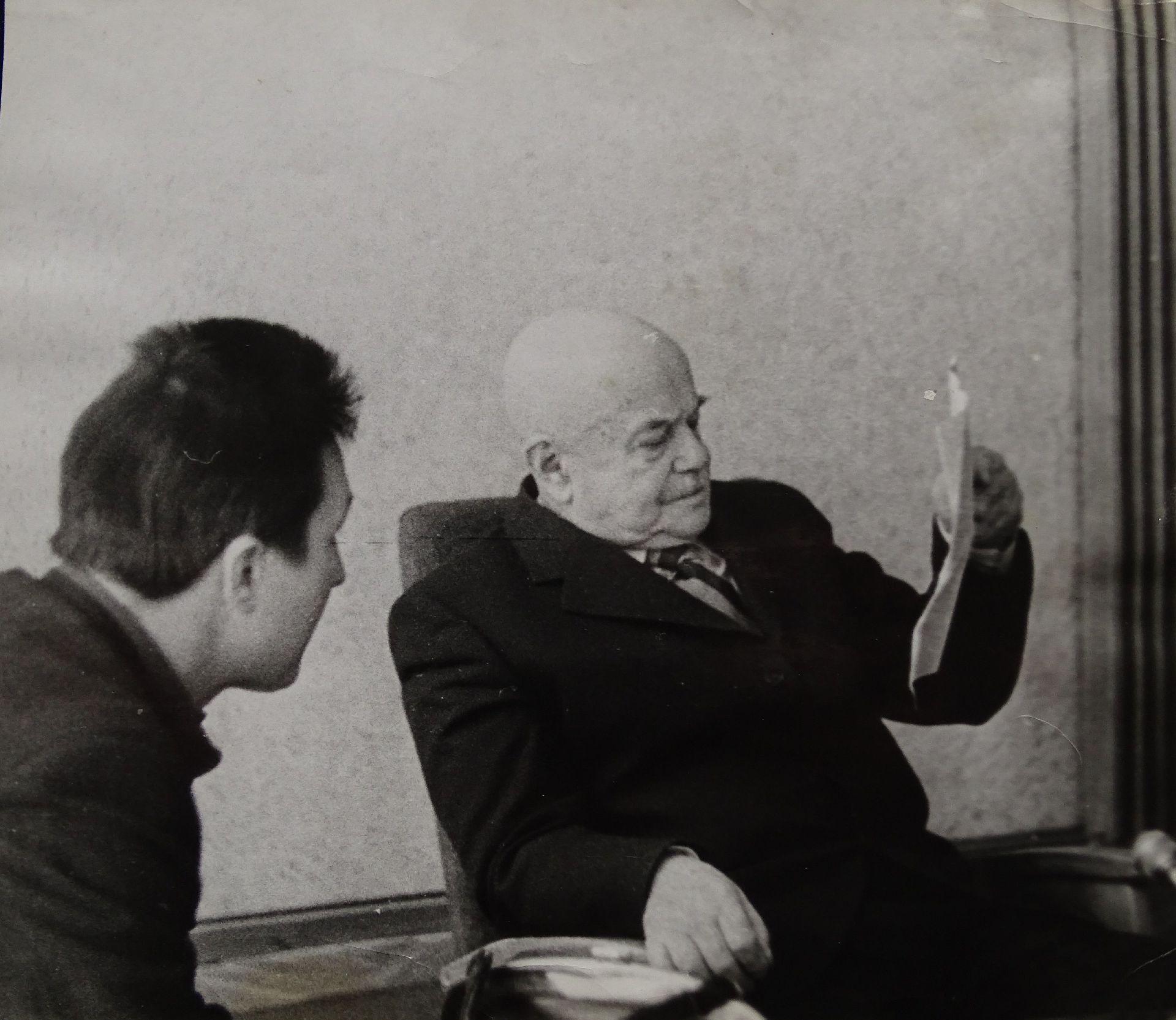Экспонат #21. Виктор Шкловский в Переделкино