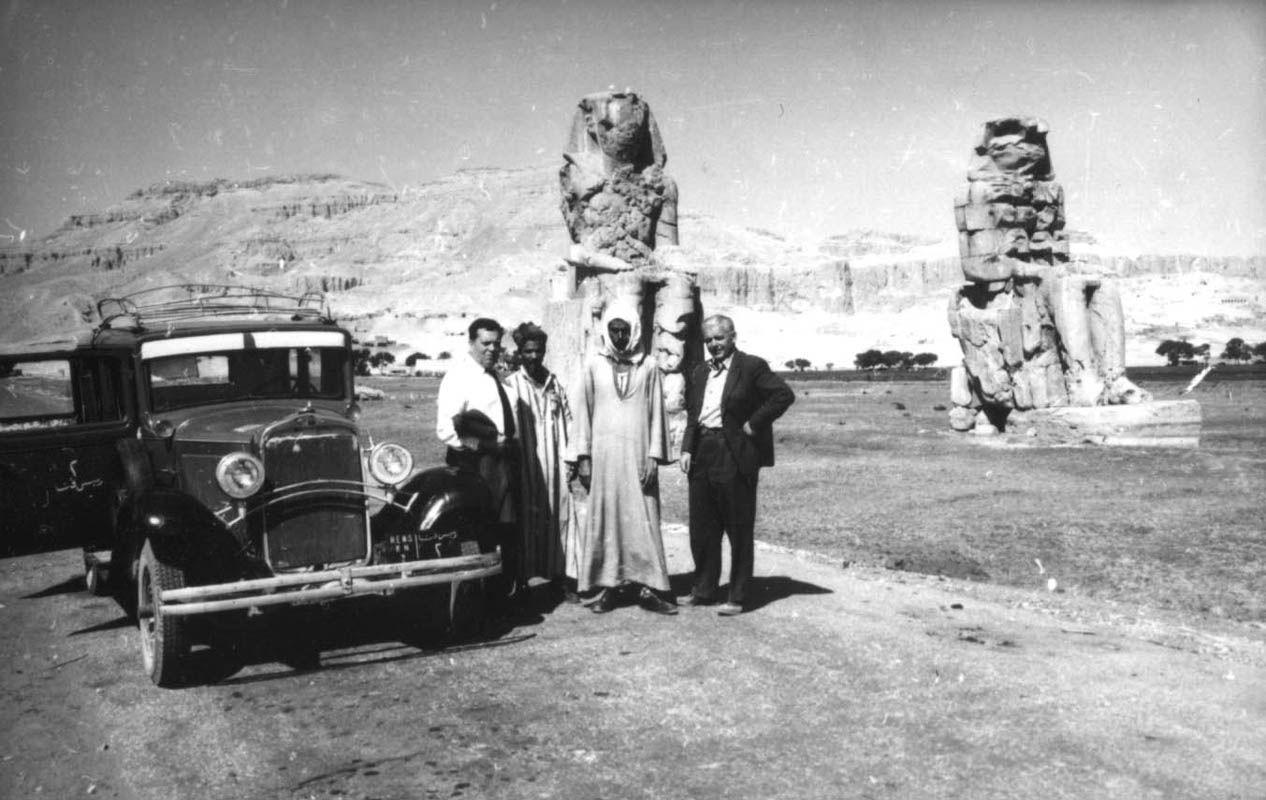 Экспонат #134. В Луксоре. Египет. 1961 год