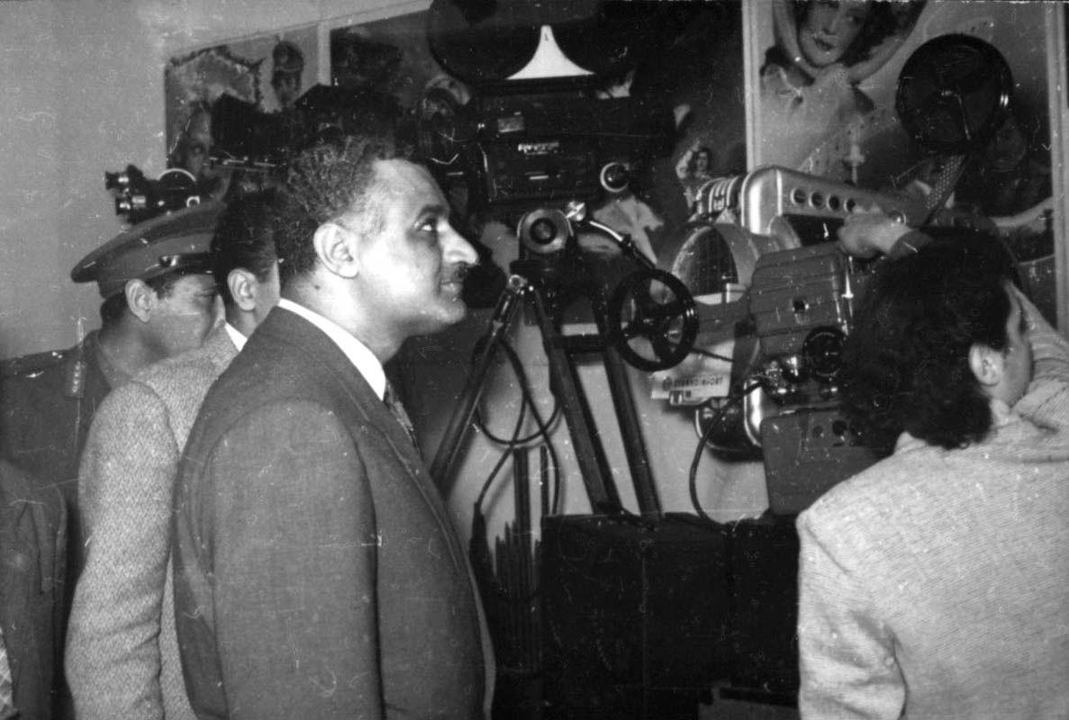 Экспонат #129. Президент Египта Г.А. Насер. Январь 1957 года