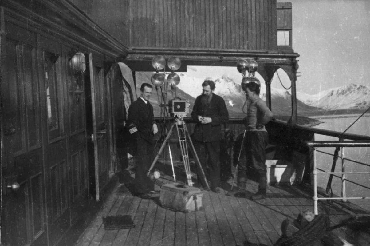 Экспонат #65. В гостях у капитана Ю. Хлебникова на «Литке». ЭОН-3. 1936 год