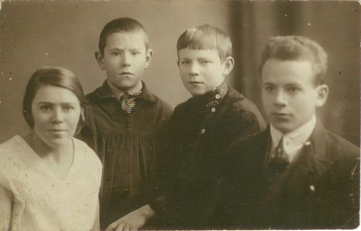 Семья Борзуниных. Казань, 1925 год