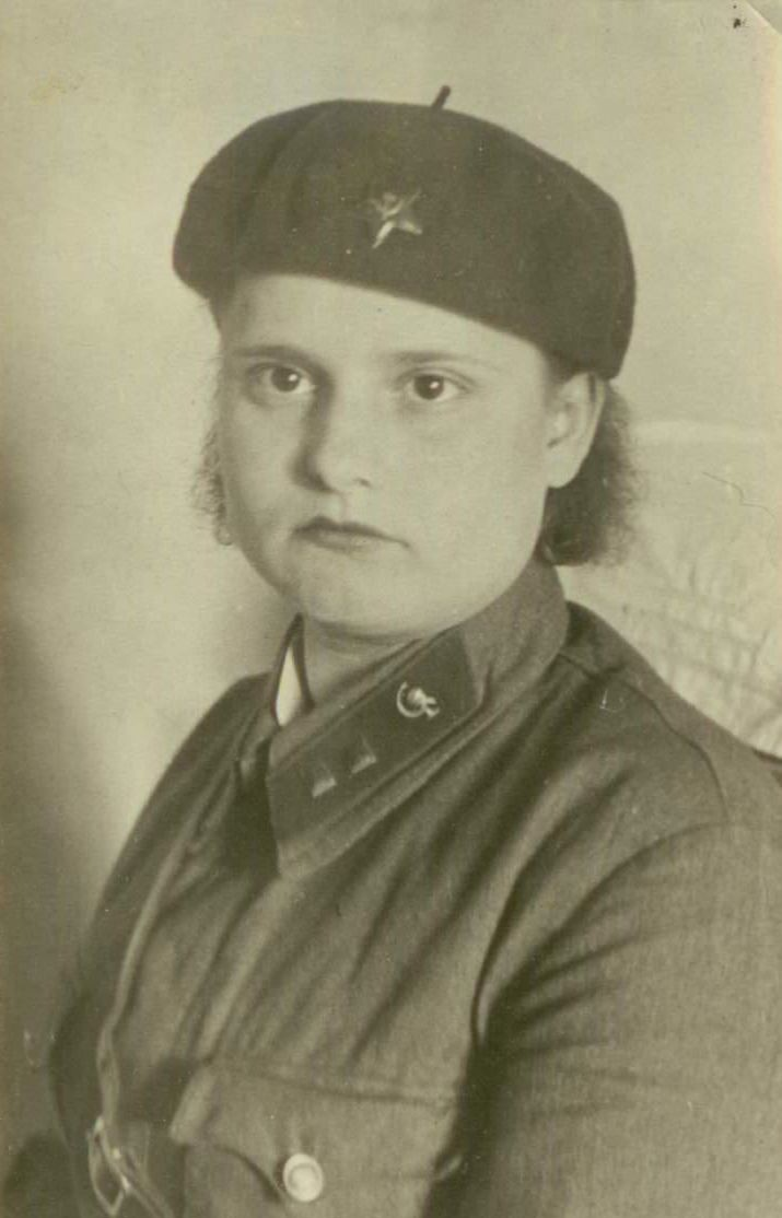 Анна Николаевна Борзунина. Уссурийский госпиталь. 1942 год