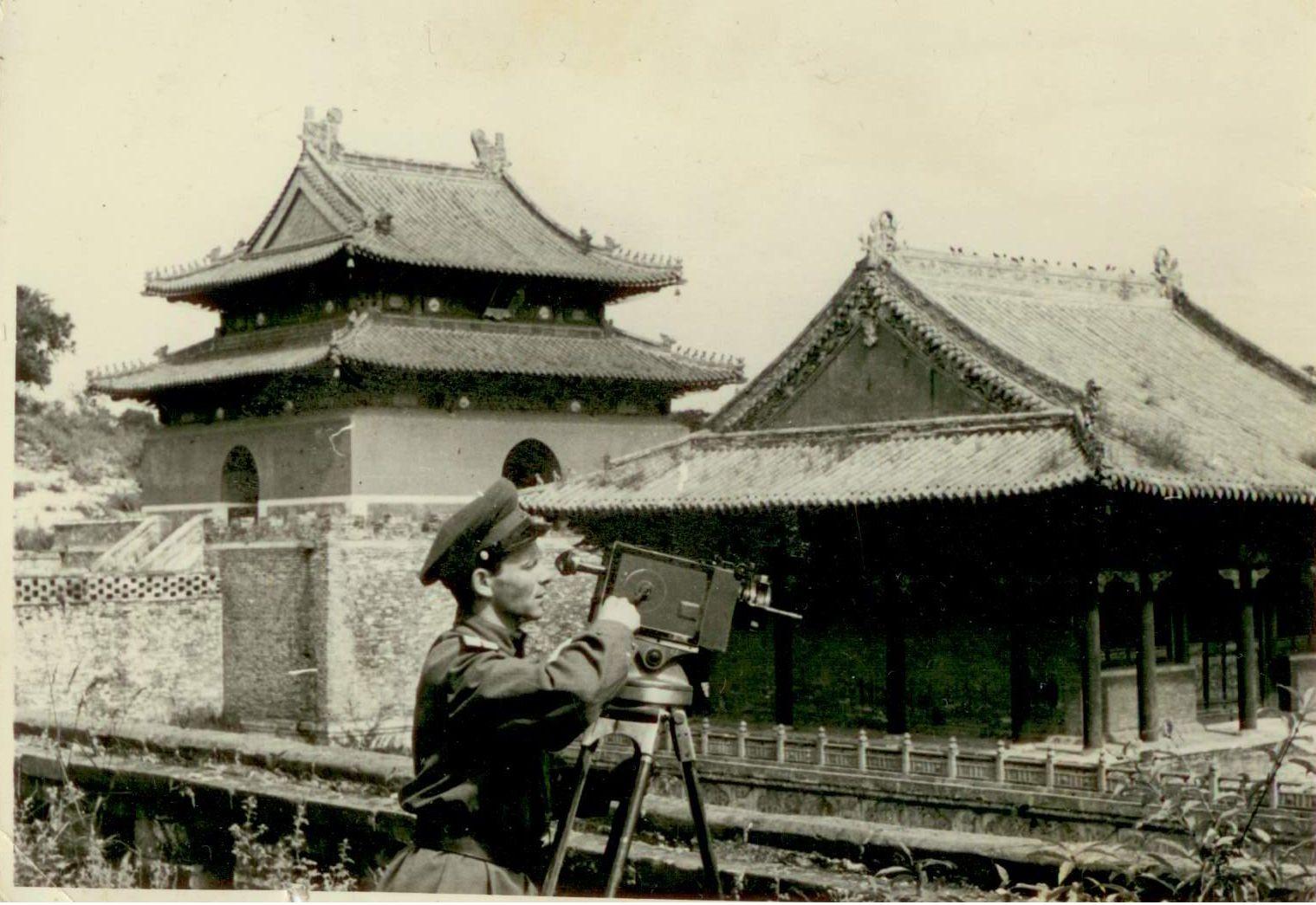 Мукден, Маньчжурия. Сентябрь 1945 года