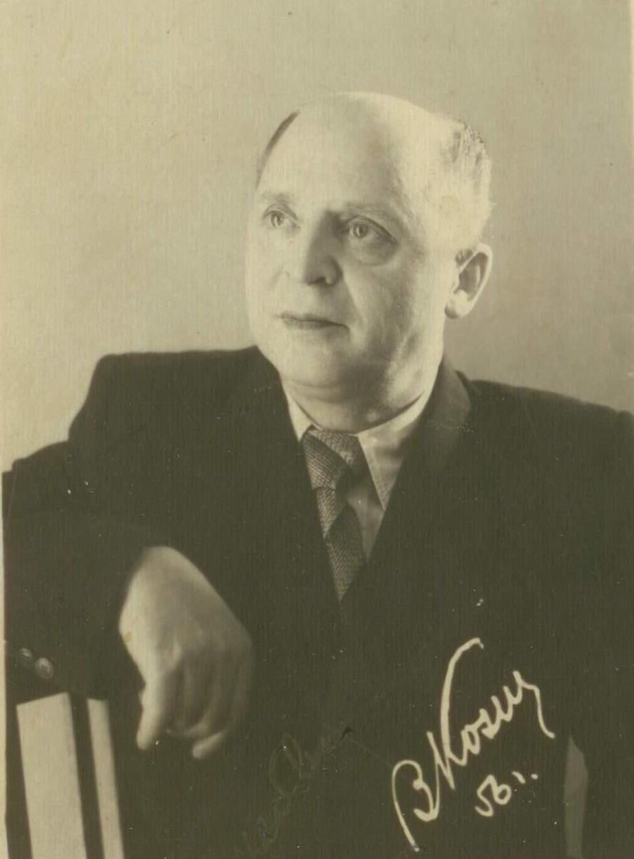 Эстрадный певец Вадим Козин. Оха, 1956 год. Фото А. Борзунина