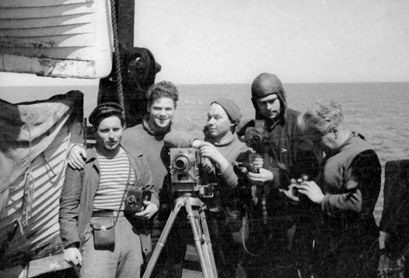 Экспонат #24. На пароходе «Смоленск» после «челюскинской эпопеи»