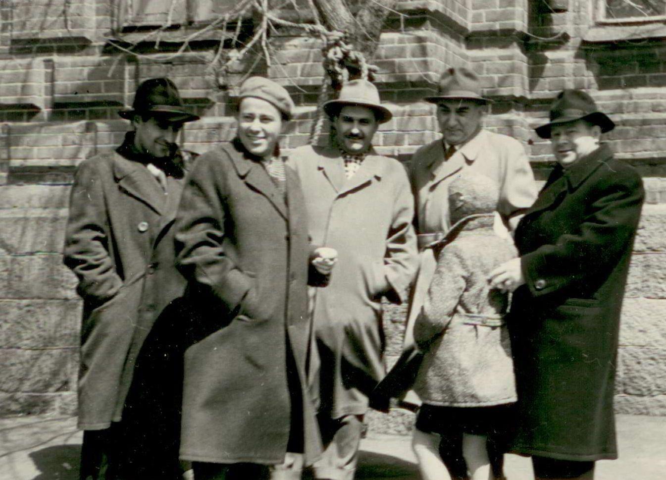Малинский, Лисицкий, Сарахатунов, Сабуров, Борзунин. Хабаровск. 60-е годы