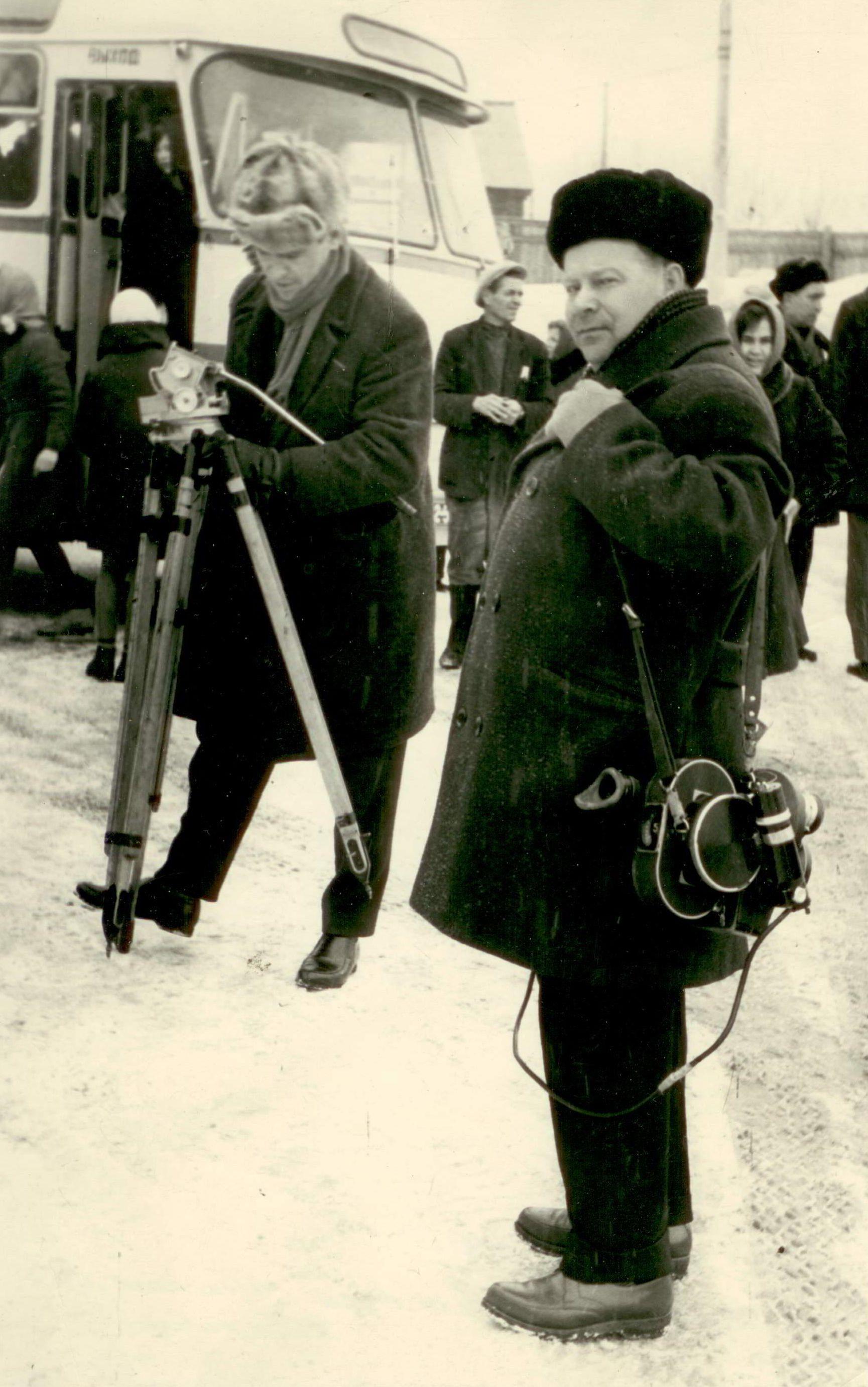 Ю. Михлик, А. Борзунин. Хабаровск. 1966 год