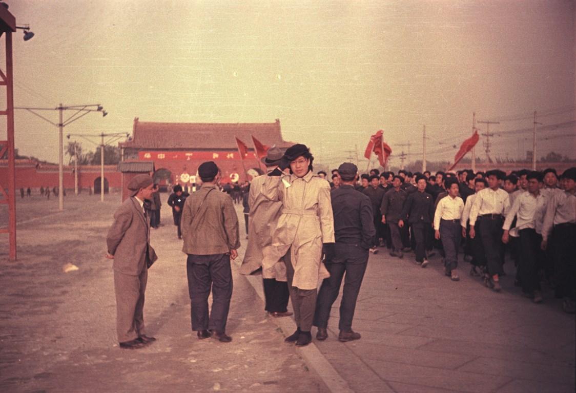 Экспонат #20. Василий Киселев во время Парада в Пекине. 1 октября 1949 года