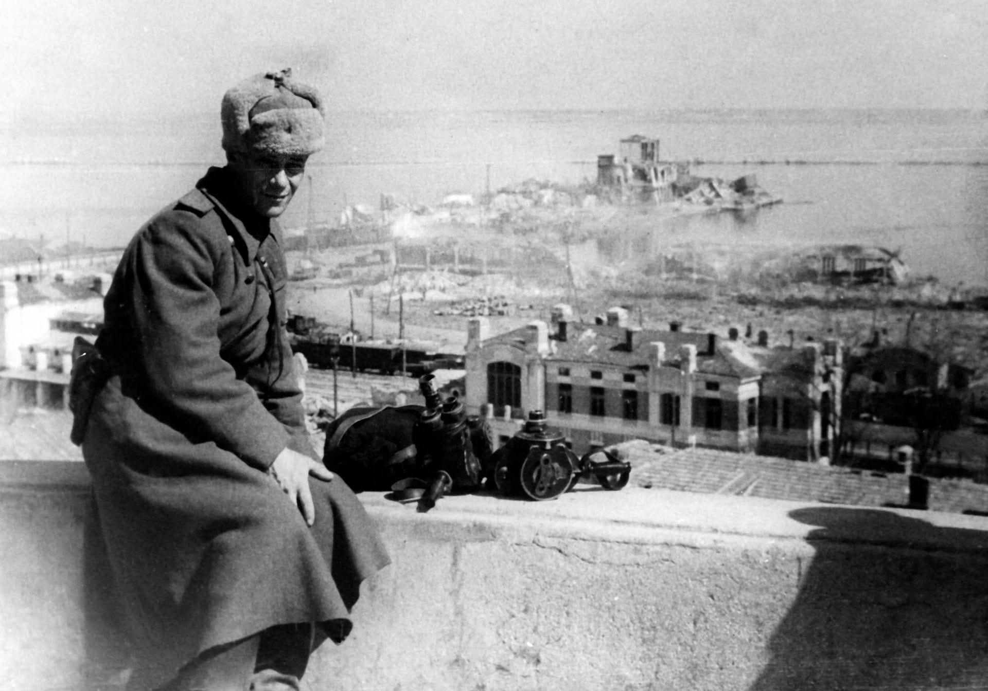 Экспонат #21. Александр Брантман. Март-апрель 1944 года