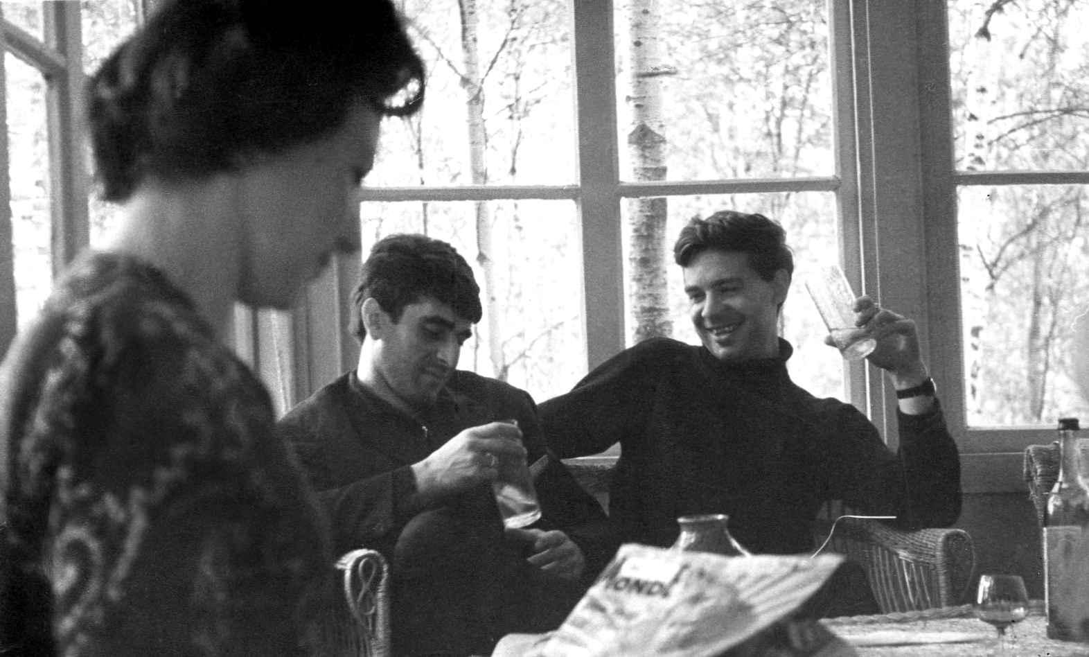Экспонат #56. На даче уРомана Карменав КраснойПахре. 1964 год