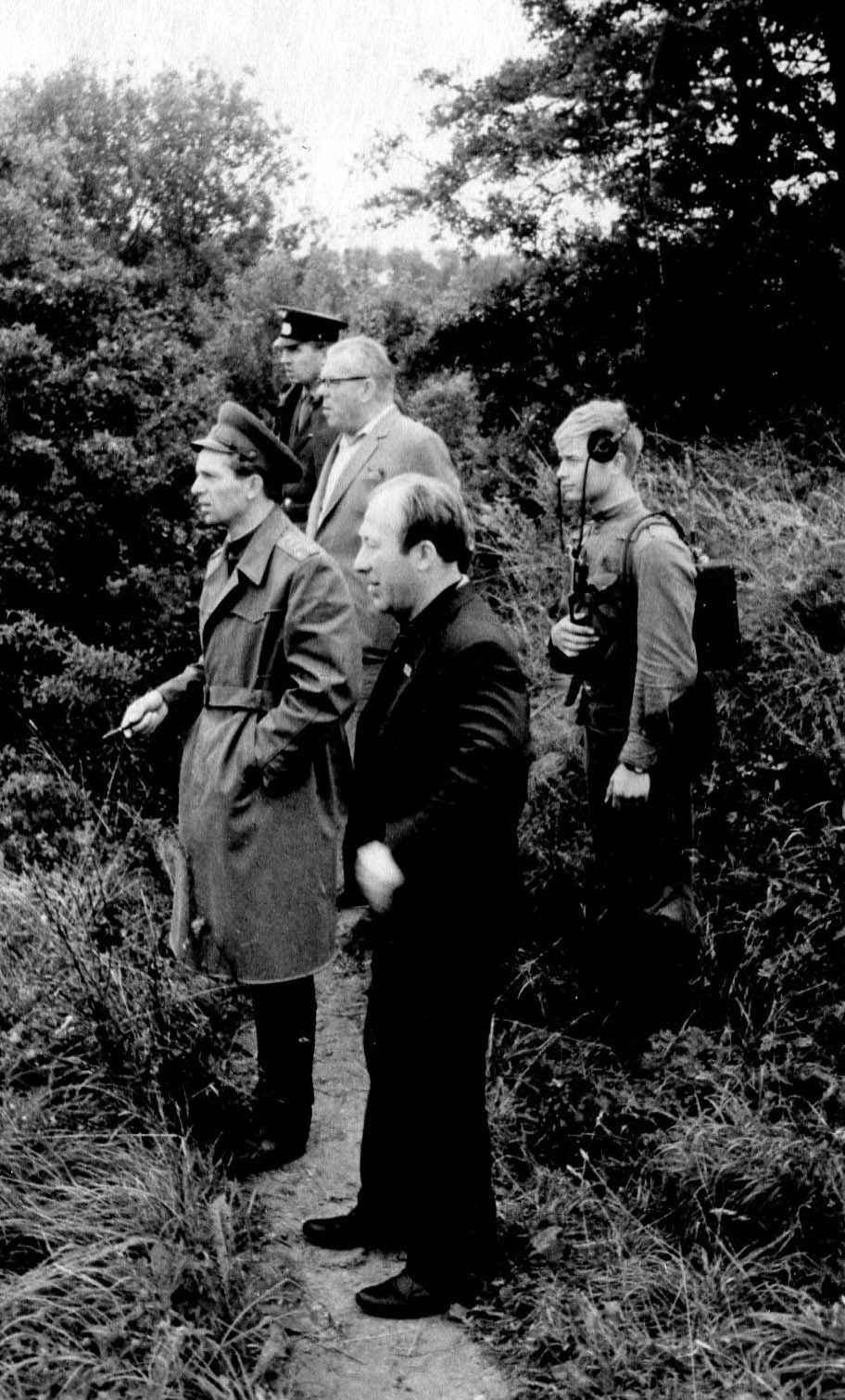 Экспонат #97. С Н. Прониным. Фильм «Родословная подвига». 1978 год