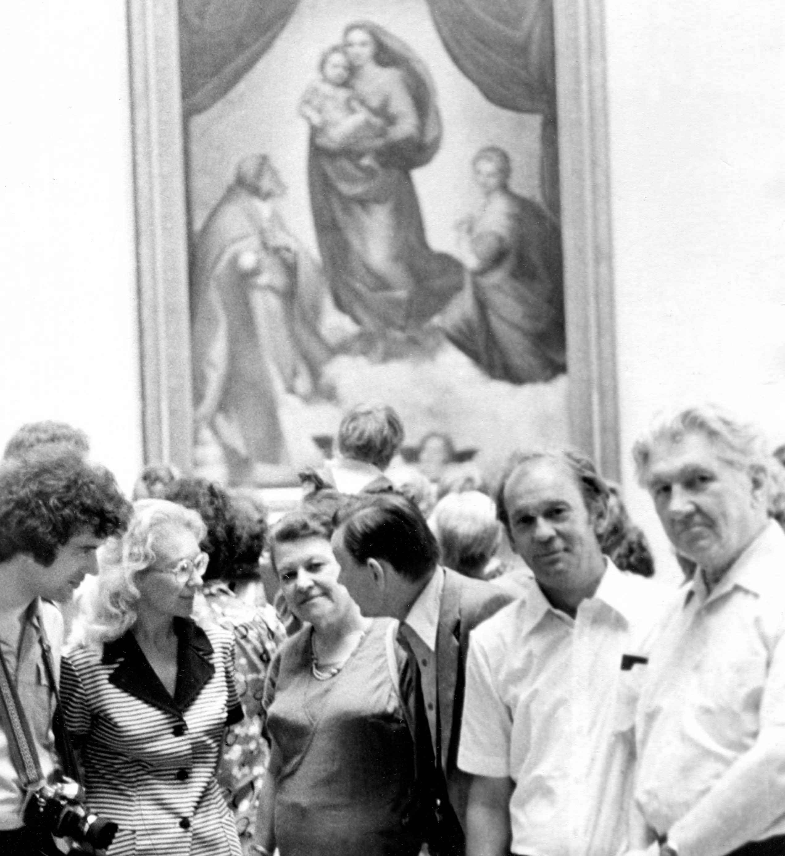 Экспонат #24. С Олегом Масаиновым в турпоездке. Дрезден. 80-е годы