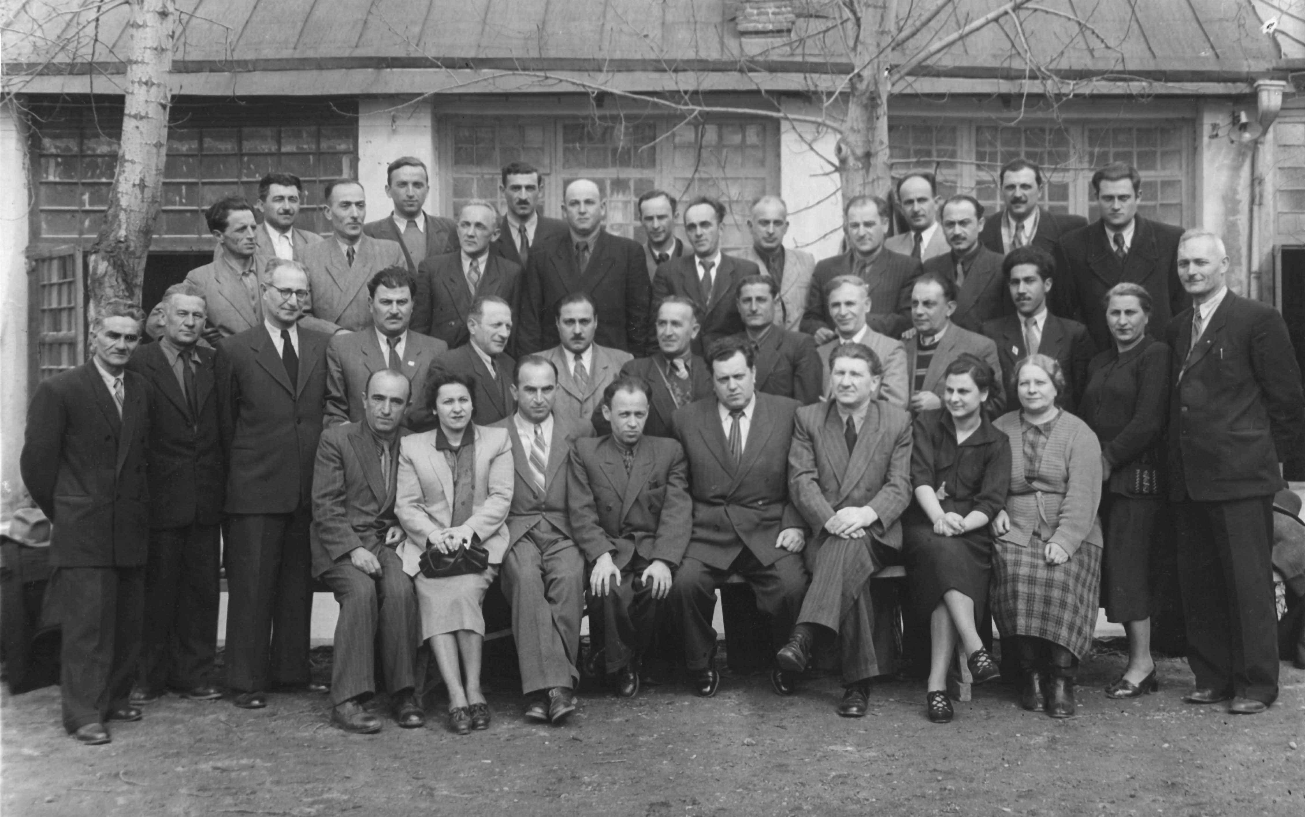 Экспонат #13. Совещание документалистов Закавказья. Тбилиси, весна 1954 года