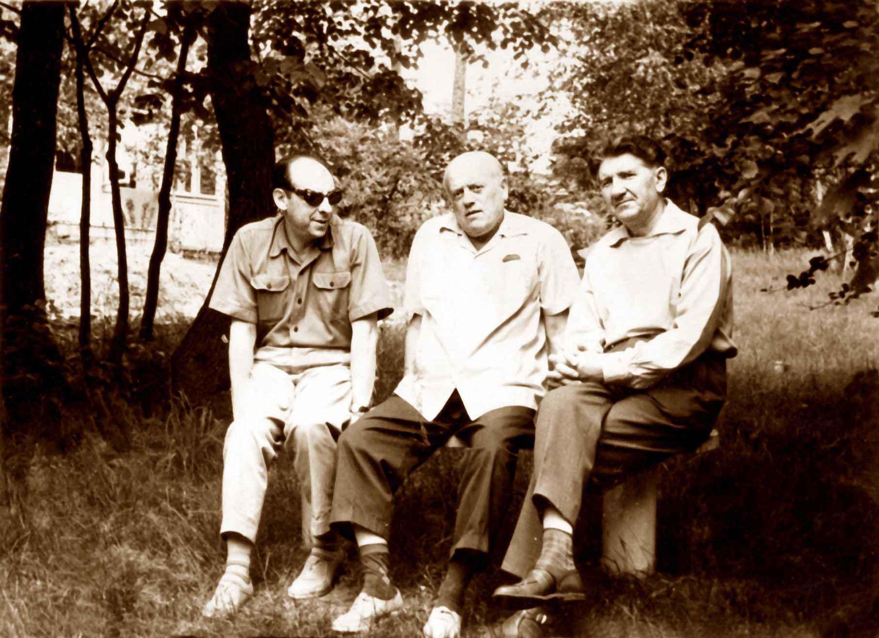 Экспонат #16. С Бубриком и Карановичем в «Болшево». 1962 год