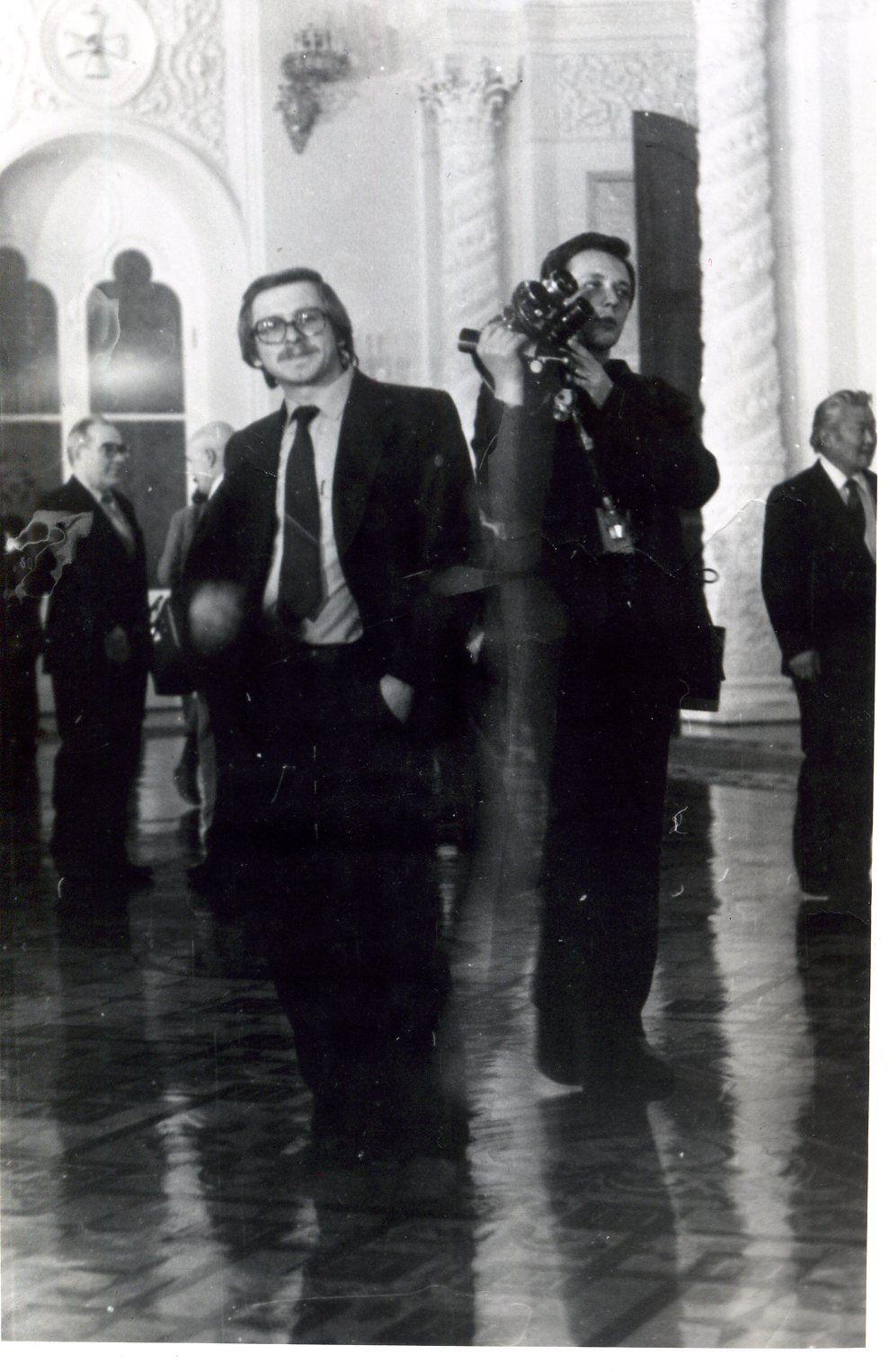 В Георгиевском зале Московского кремля