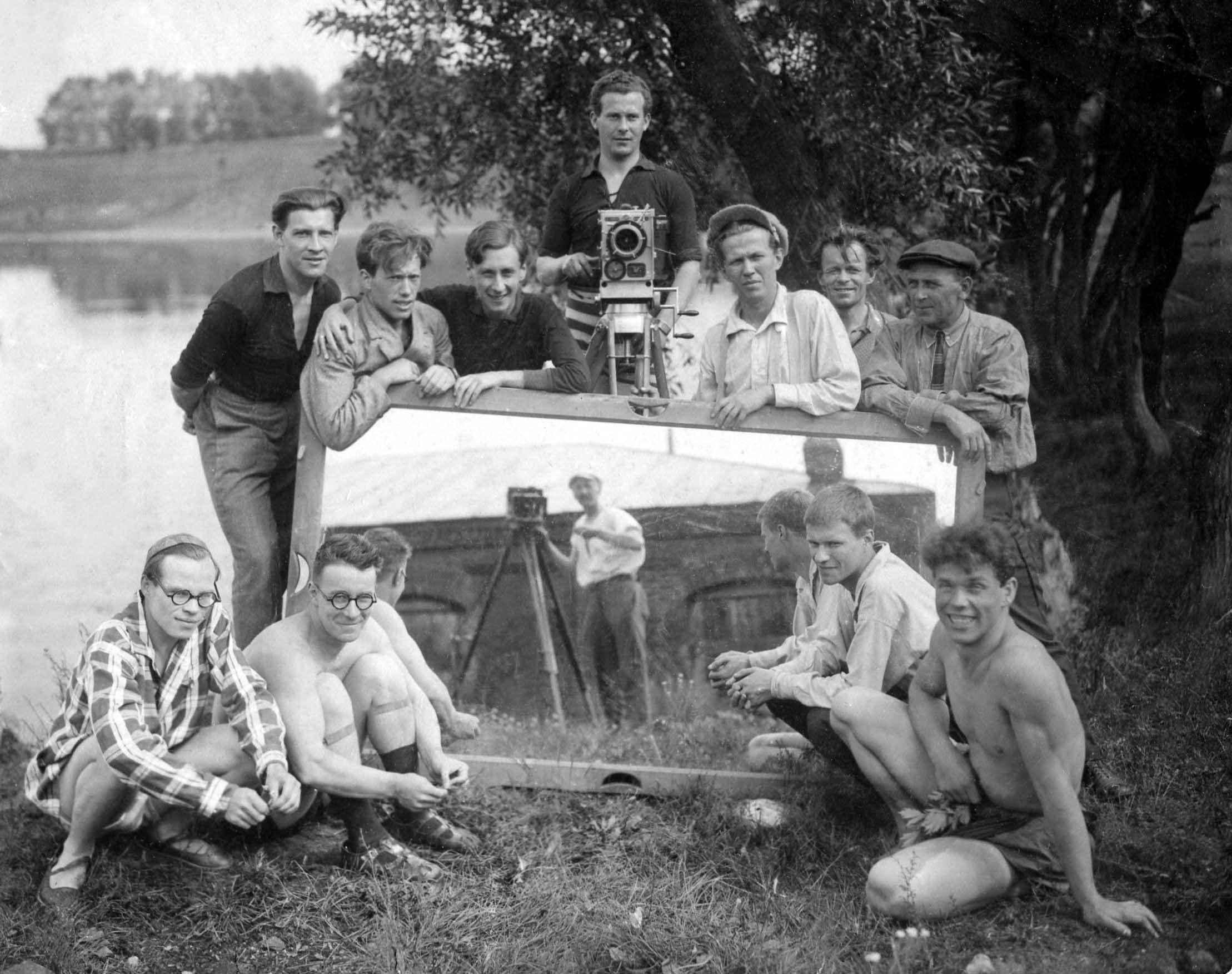 Экспонат #7. С Сергеем Юткевичем. 1925 — 1926 гг.