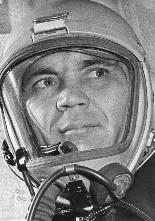 Экспонат #59. Лётчик-испытатель Георгий Мосолов. 1961 год