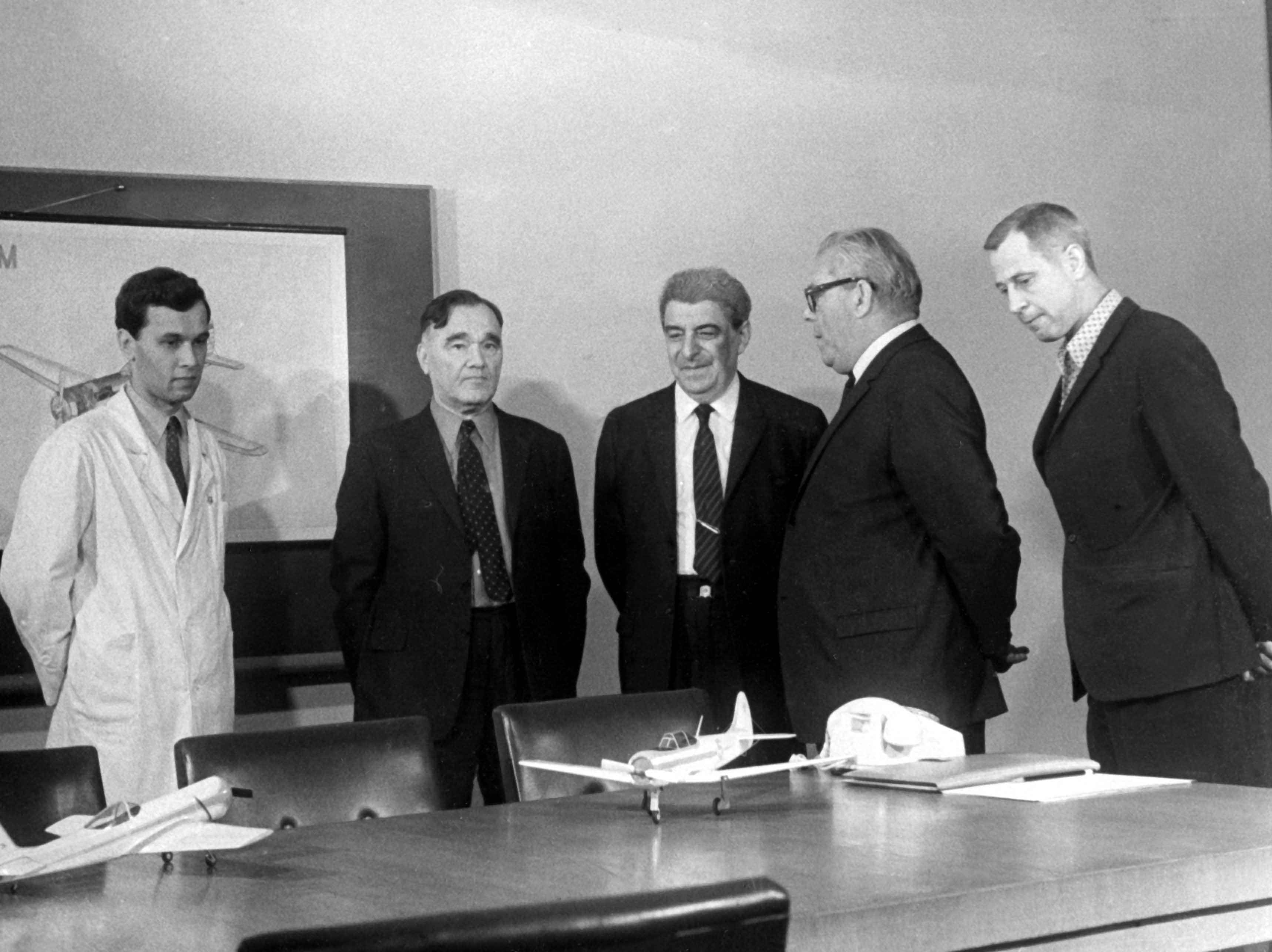 Экспонат #82. В ОКБ им. А.С. Яковлева. 1972-1973 гг.