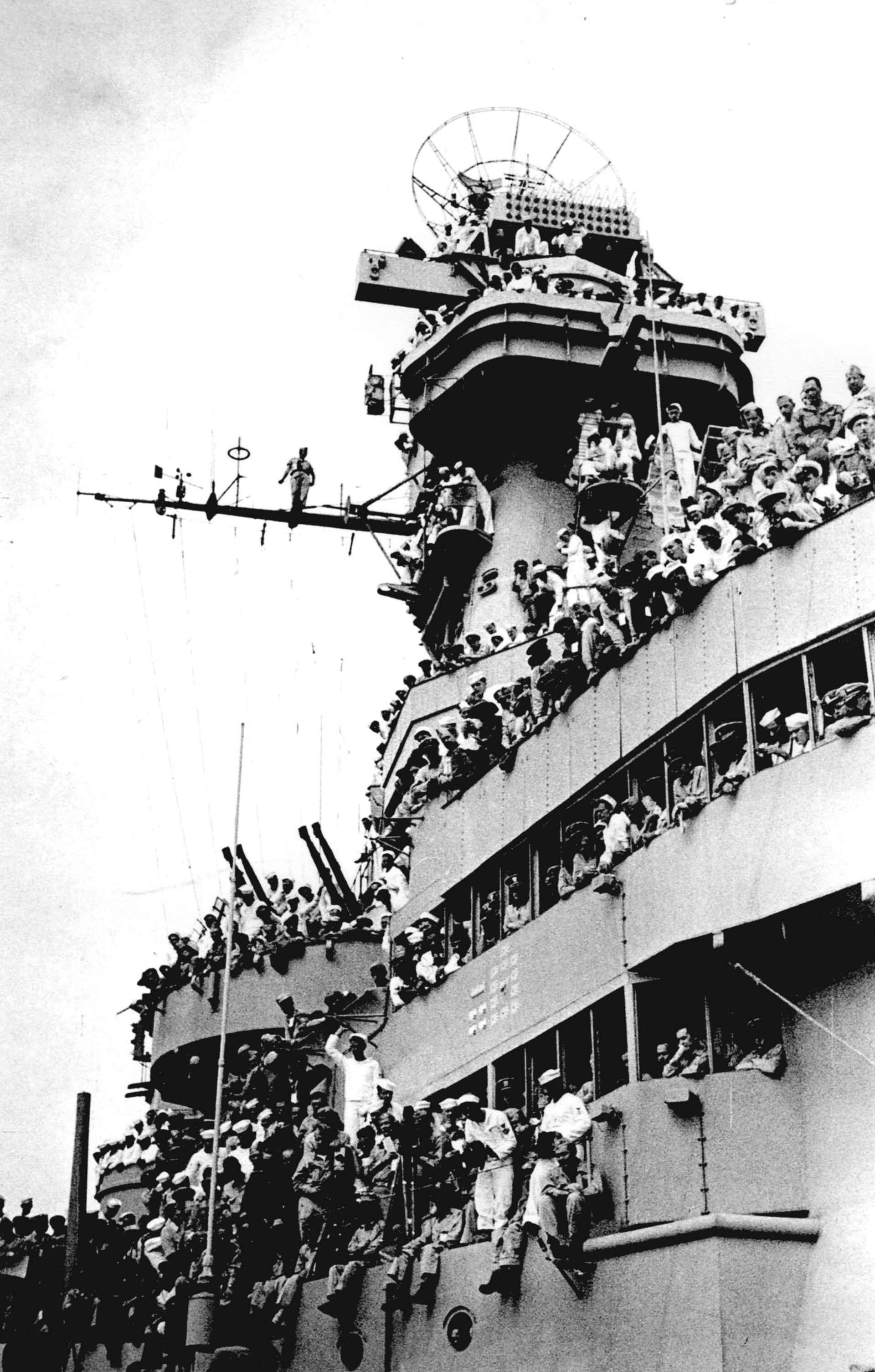 Экспонат #7. На линкоре «Миссури». 2 сентября 1945 года