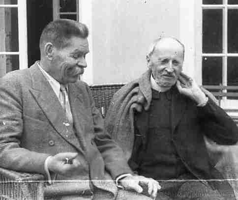 Экспонат #5. Ромен Роллан и Максим Горький. Июнь-июль 1935 года
