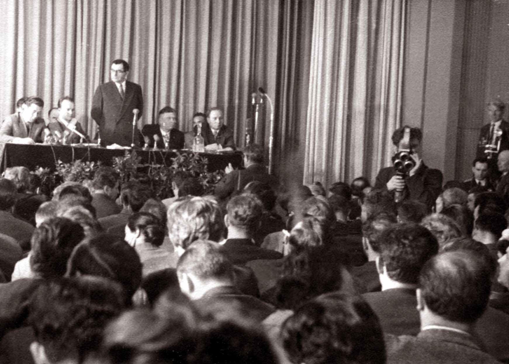 Экспонат #43. Пресс-конференция министра иностранных дел А. А. Громыко. Май 1960 года
