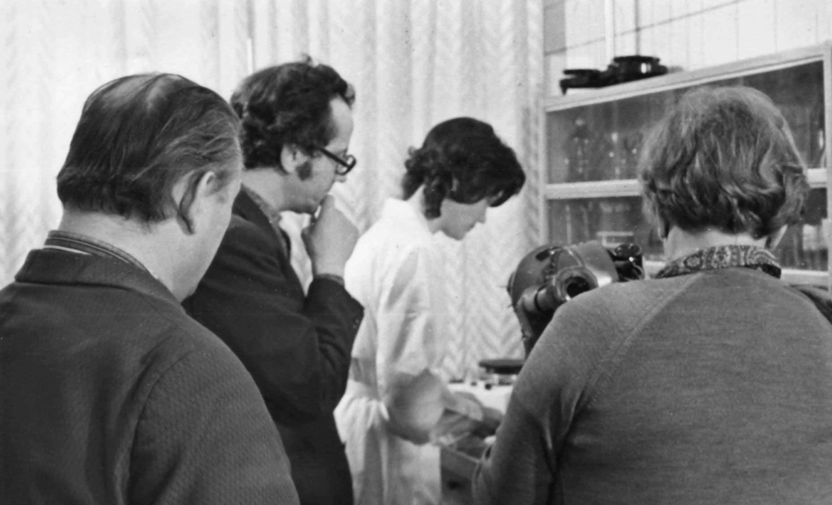 Экспонат #67. С режиссером А. Павловым. 1975 год