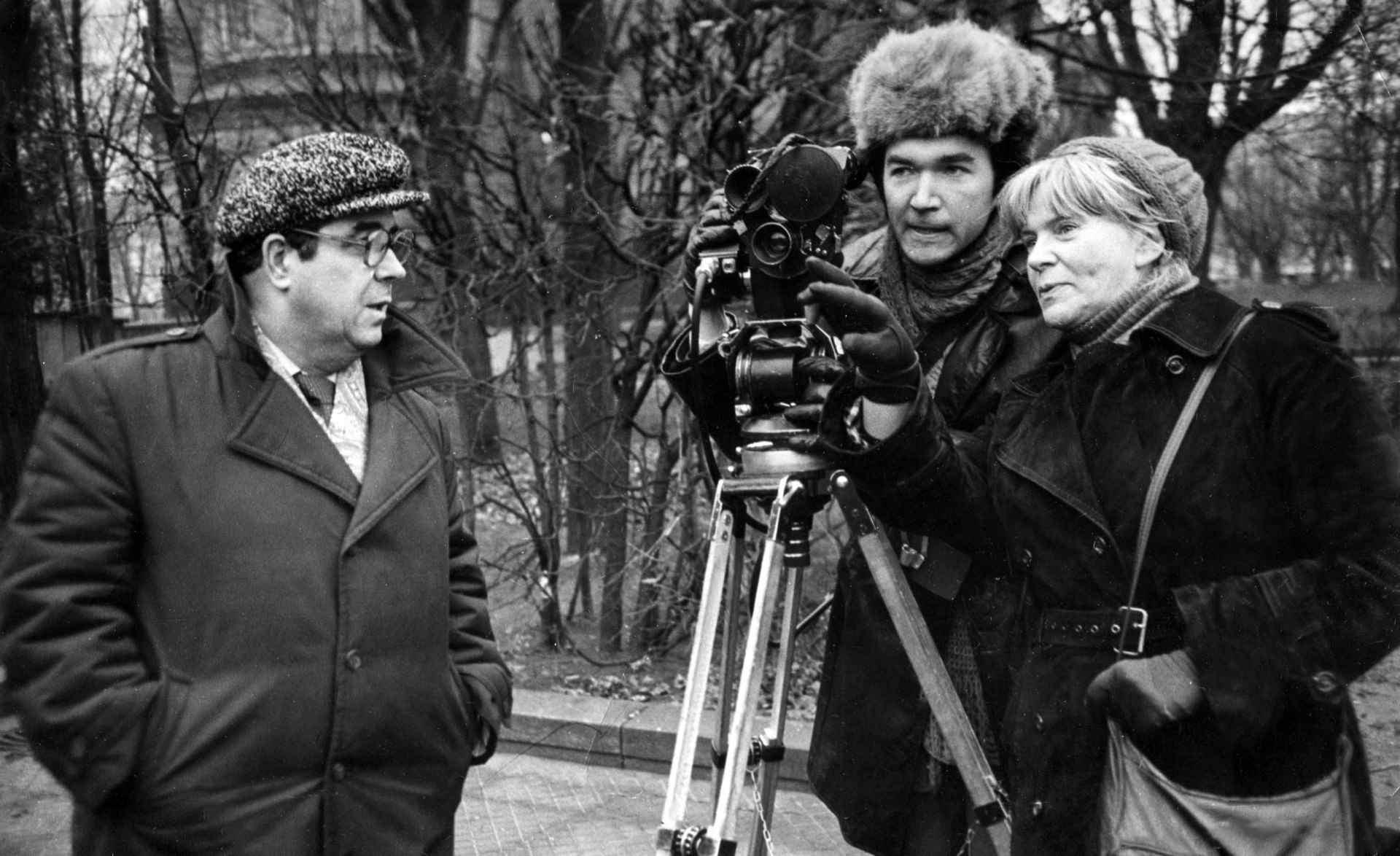 Экспонат #59. Снимает кинооператор Юрий Оржеховский. 1984 год