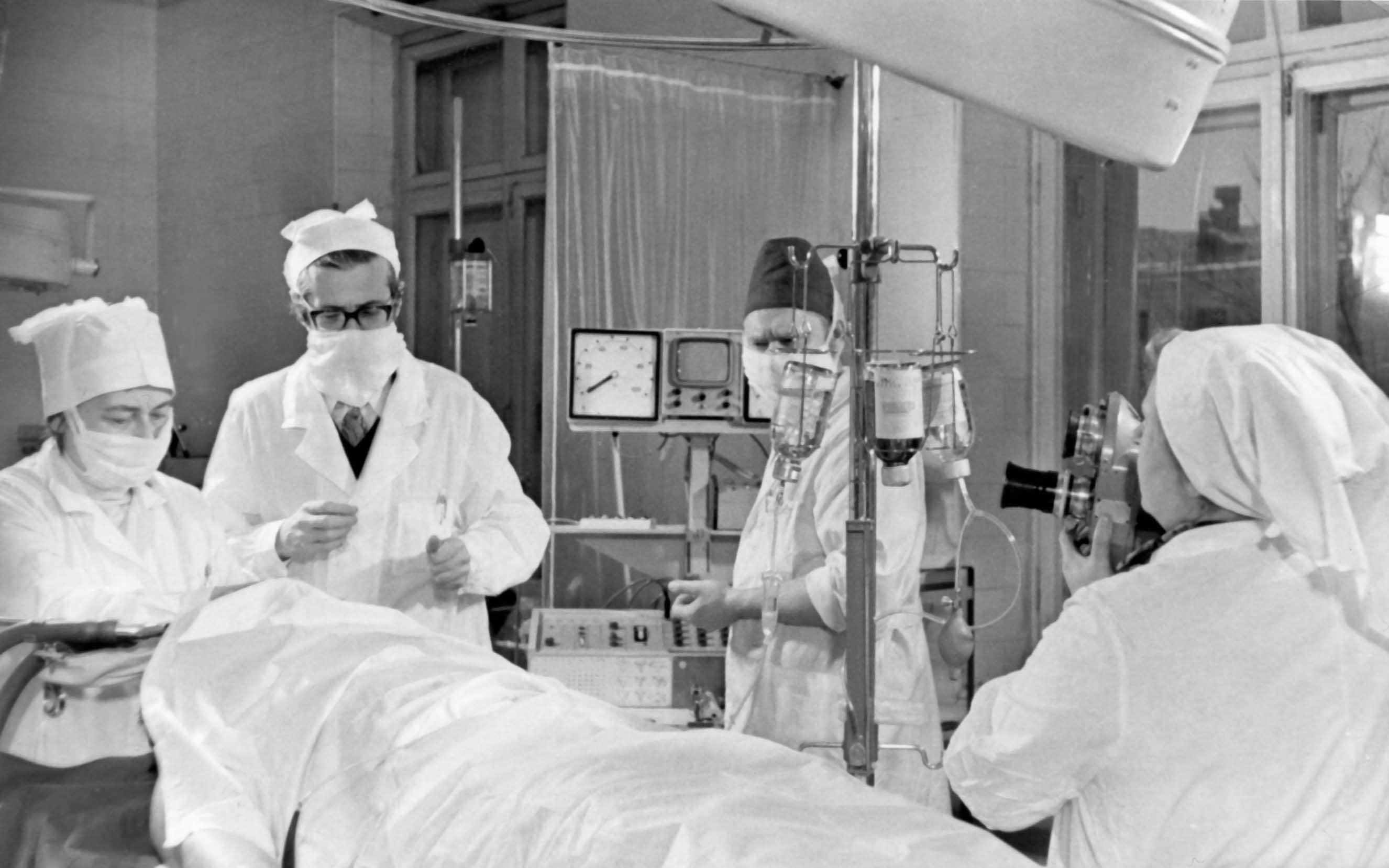 Экспонат #65. В Московской клиническойбольнице им.Боткина. 1975 год