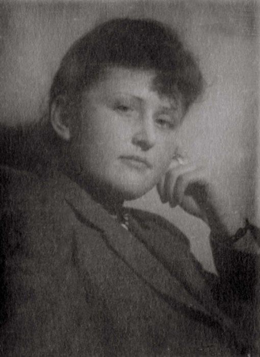 Экспонат #8. Мая Попова — судентка ВГИКа. Сер. 40-х годов