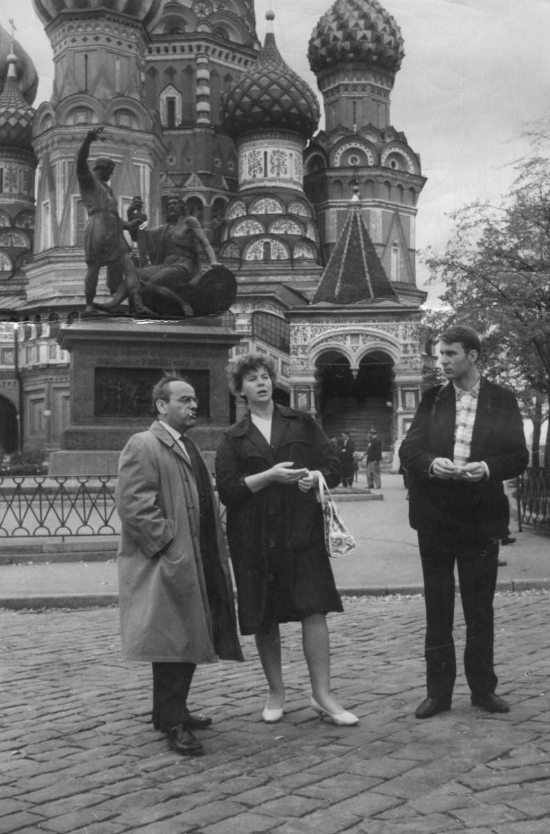 Экспонат #60. С художником И. Нижником. 1964 год