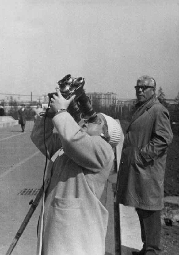 Экспонат #69. Снимает оператор Мая Попова. 1965 год