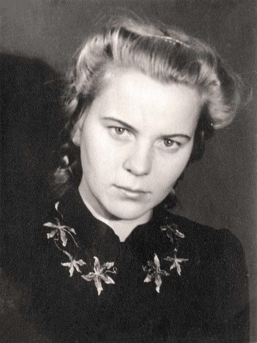 Экспонат #1. Владилена Михайловна Мусатова