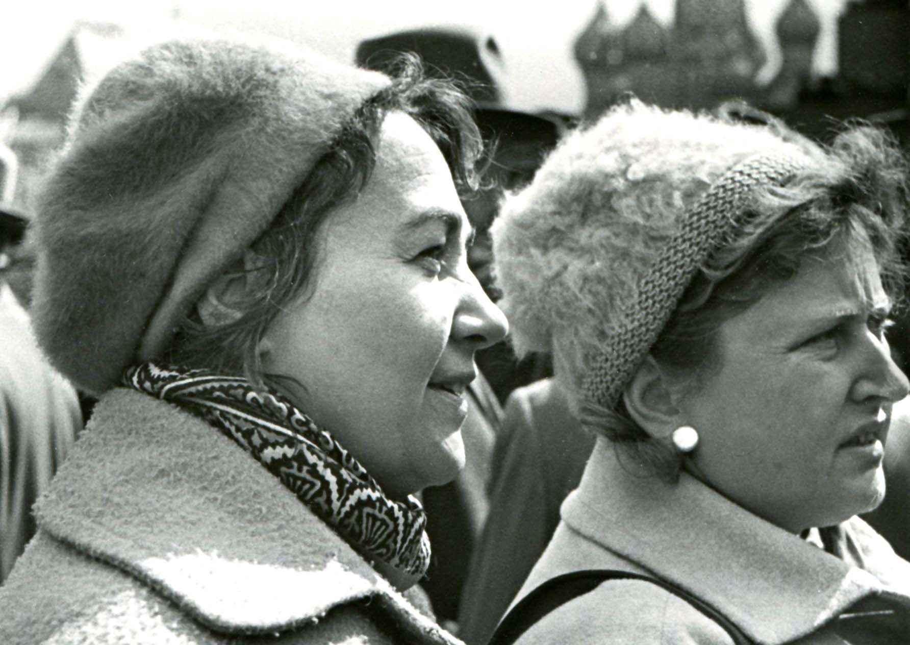 Экспонат #51. С Галиной Захаровой на Красной площади.1 мая 1961 года