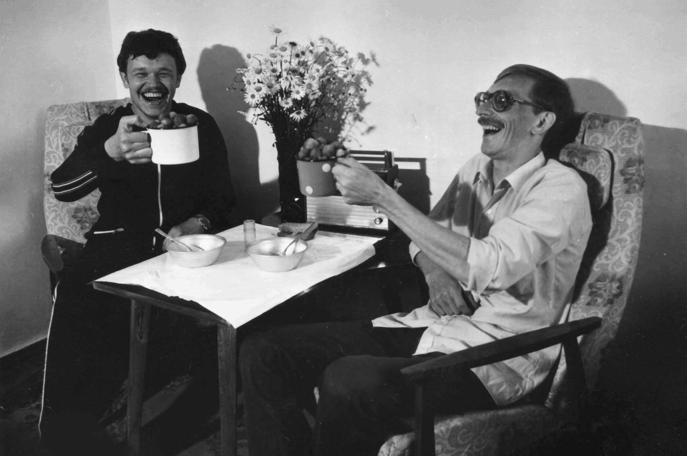 Экспонат #16. С Андреем Леоновым во Владивостоке. 1983 год