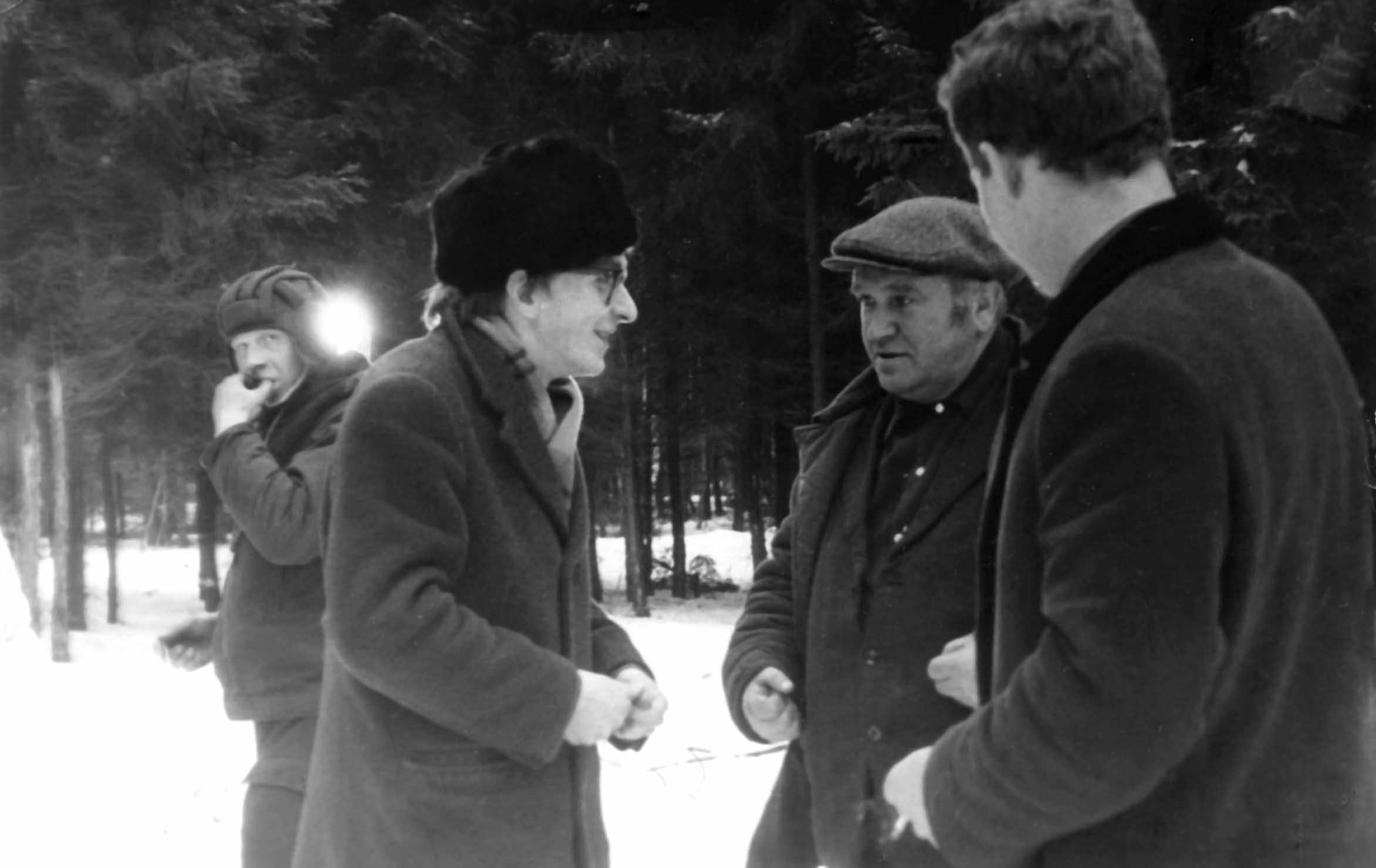 Экспонат #3. С  Константином Глуховым в Таманской дивизии. 1974 год