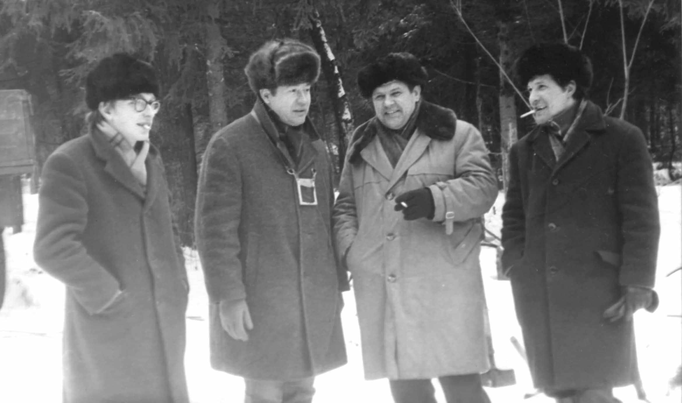 Экспонат #5. С Владимиром Байковым в Таманской дивизии. 1974 год
