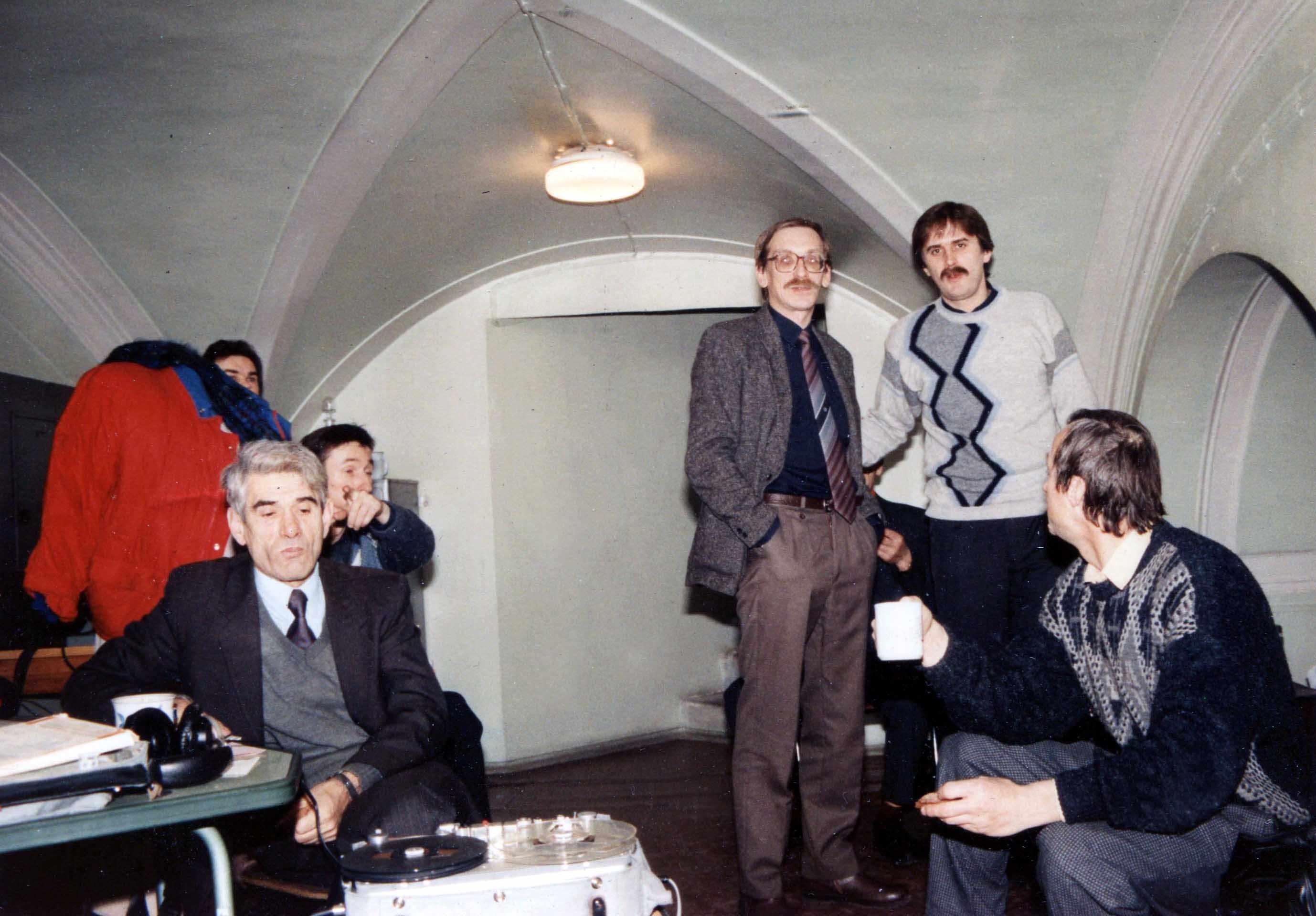 Экспонат #42. С Владимиром Дорфманом и Федором Юрковым