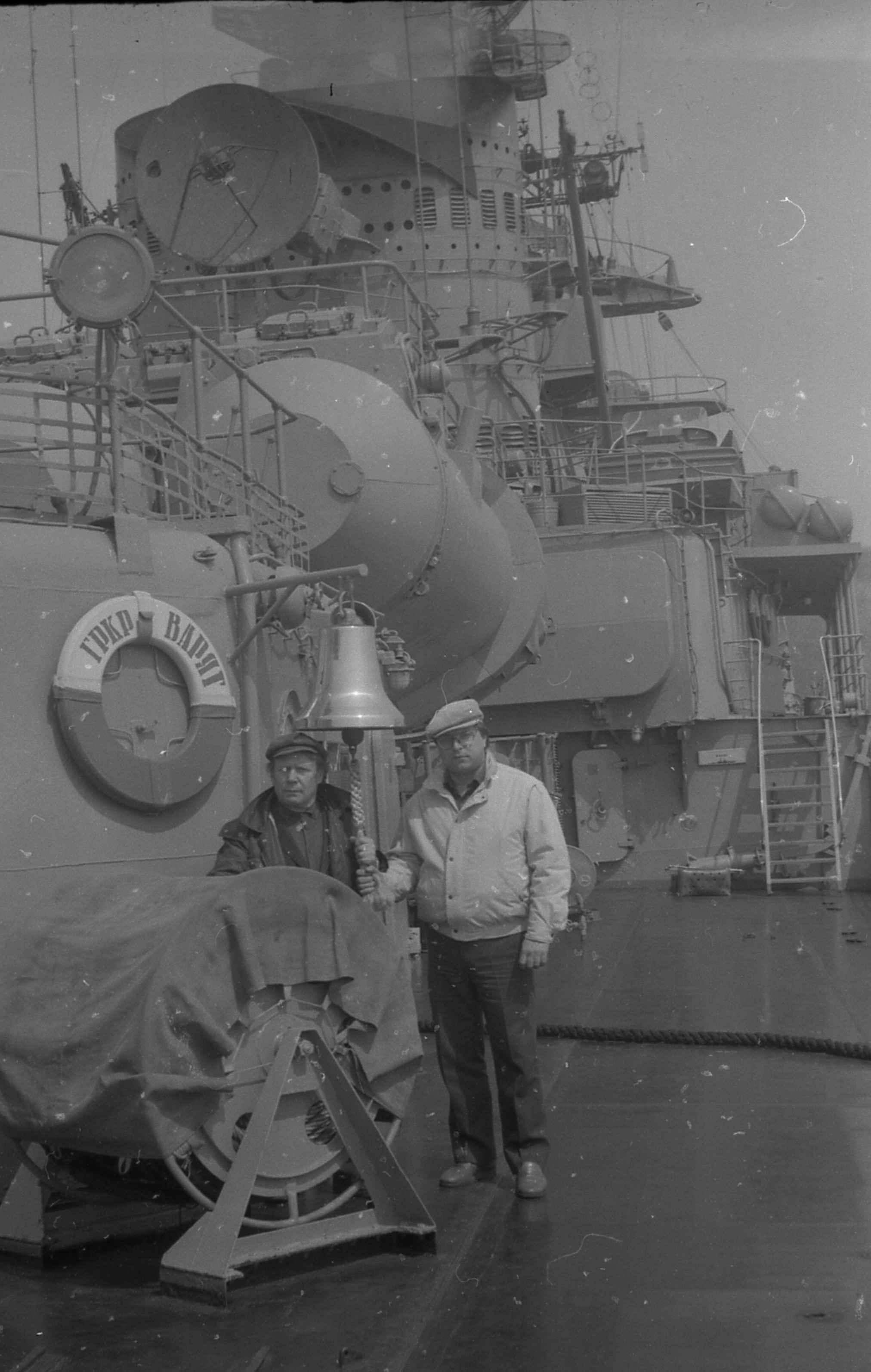 Экспонат #28. Гвардейский ракетный крейсер «Варяг»