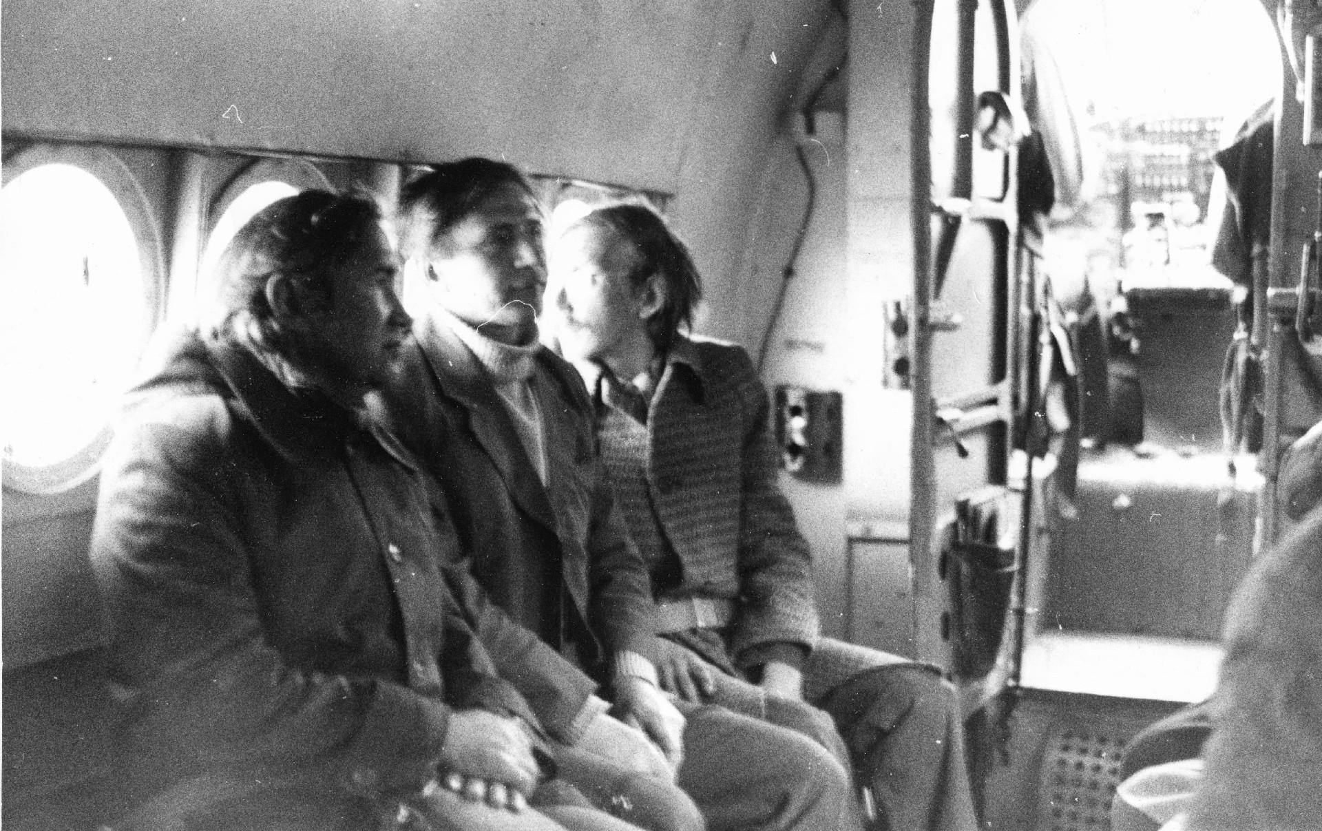 Экспонат #17. Съемочная группа фильма «Дороги Нечерноземья». 1981 год