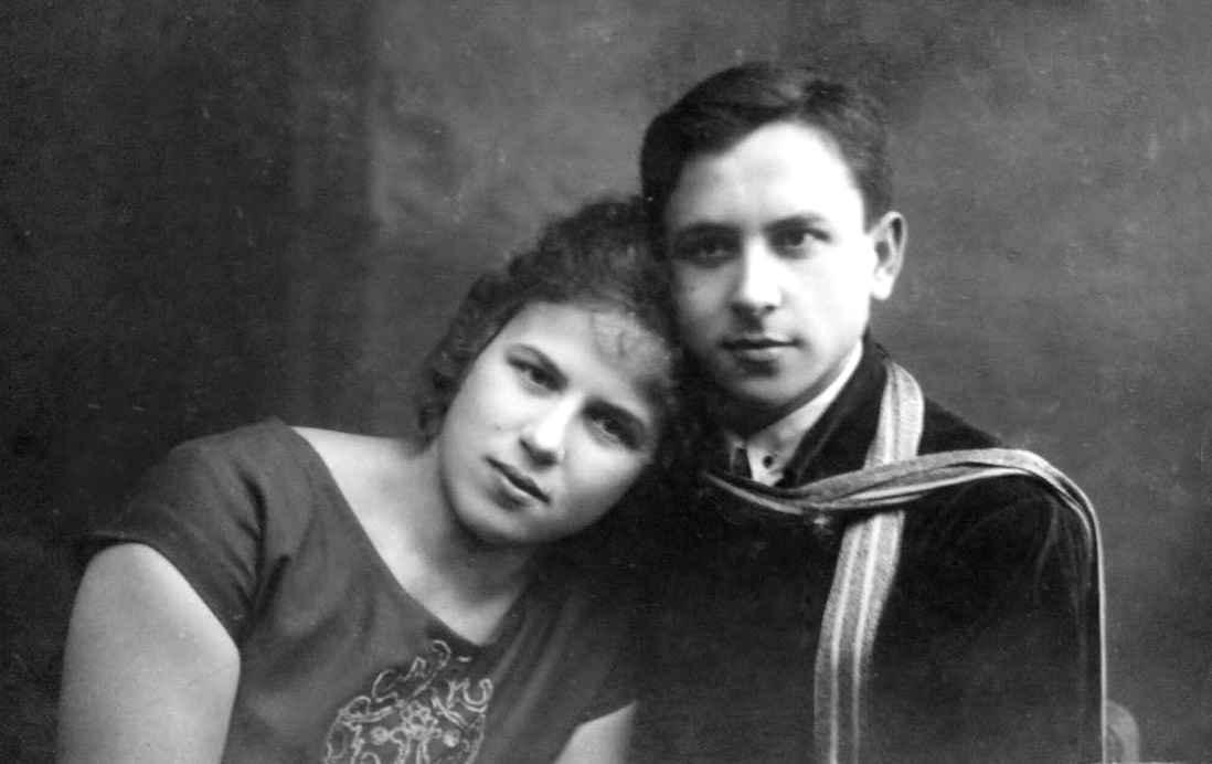 Экспонат #4. Евгения Мартыновна с братом Юрием